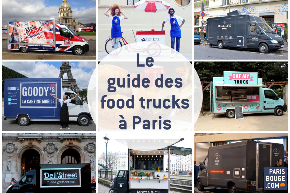 Des Liste À L'interminable Paris Guide Trucks Food U46Avqv