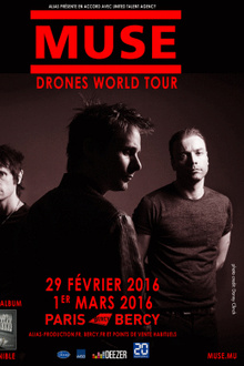 Muse en concert - Drones World Tour