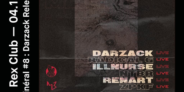 Minéral 8: Darzack Release Party