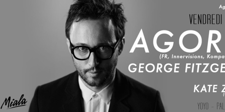 Agoria presents George Fitzgerald et Kate Zubok