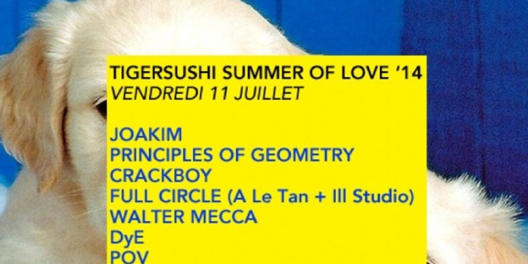 Tigersushi Summer Of Love '14