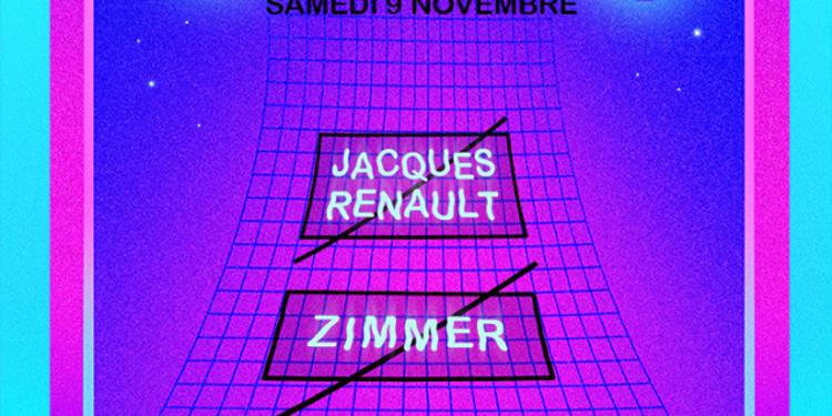 Nouveau Disco : Jacques Renault - Zimmer - HI-Man