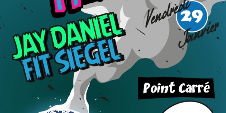 DANCING HEROES w/ JAY DANIEL, FIT SIEGEL, POINT CARRÉ