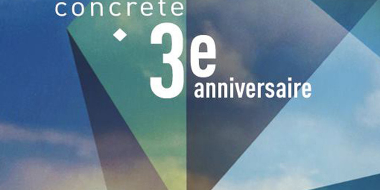 Concrete 3 Years Anniversary