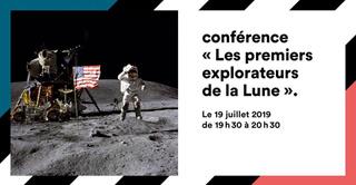 """GROUND CONTROL / CONFERENCE """"LES 1ERS EXPLORATEURS DE LA LUNE"""""""