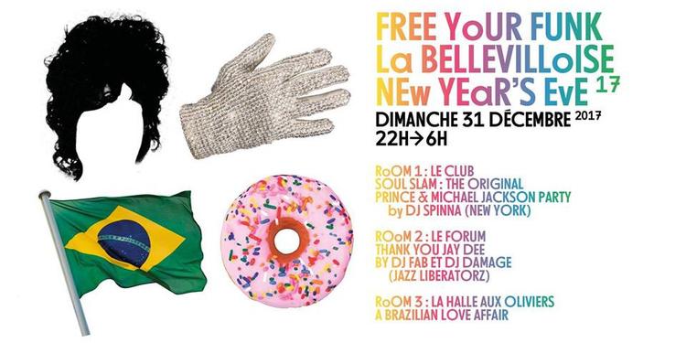 Reveillon Free Your Funk à La Bellevilloise