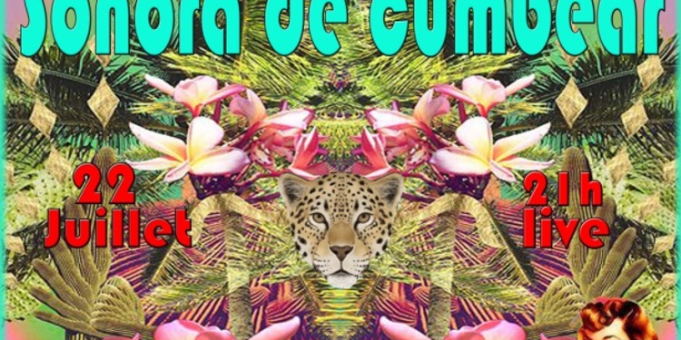 Bal cumbia avec la Sonora de Cumbear