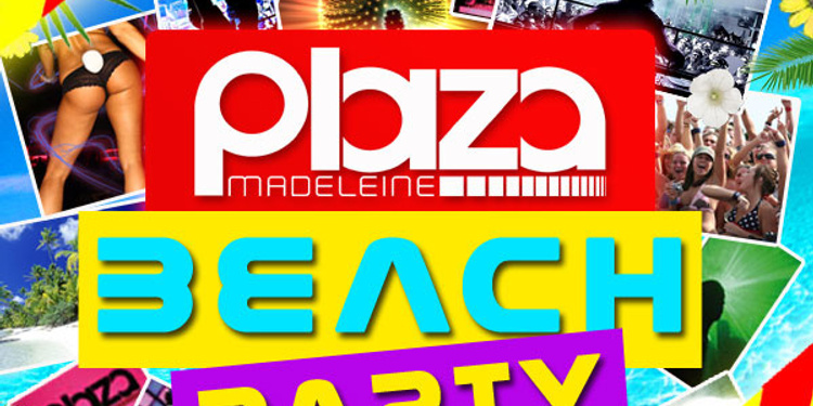 Plaza Beach Party