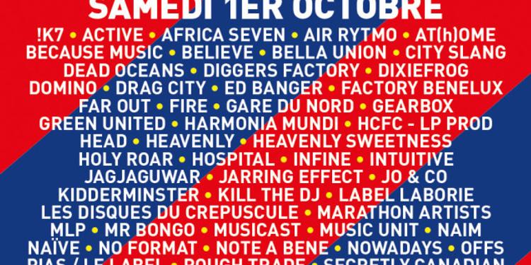 Le Marché des Labels Indépendants (concerts + dj sets)