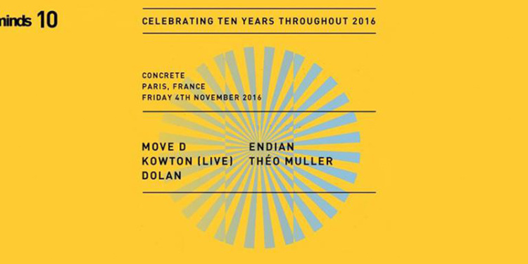 Concrete [Electric Minds 10]: Move D x Kowton live x Endian