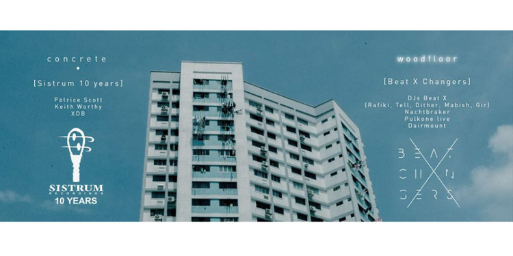 Concrete [Sistrum recordings] // Woodfloor [Beat X Changers]