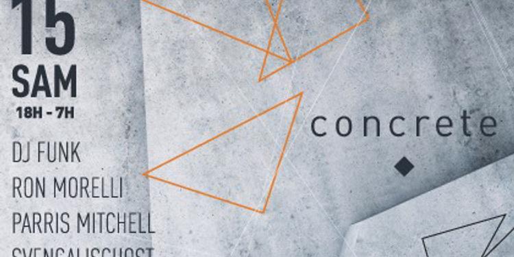 Concrete : Dance Mania vs L.I.E.S. record
