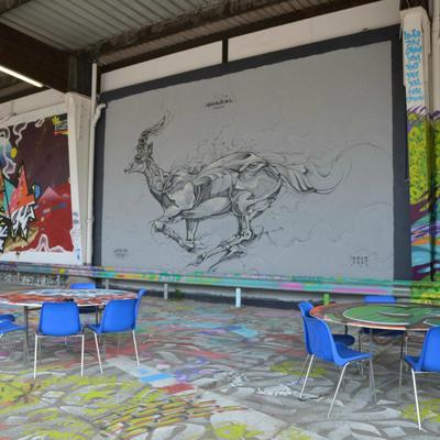 L'Aérosol, street art et street food dans le 18ème