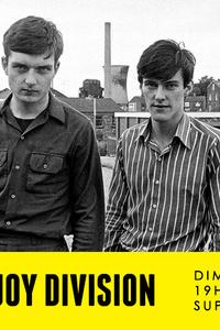 Sunday Tribute - Joy Division // Supersonic - Le Supersonic - dimanche 15 novembre