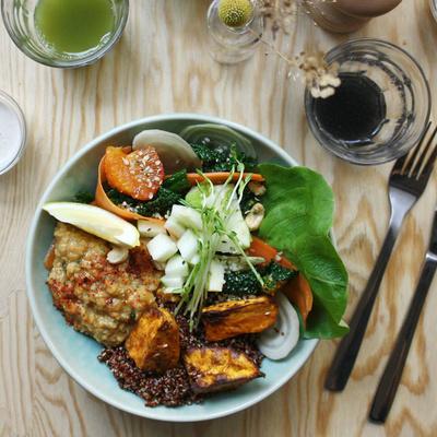 Otium, bar à jus et cantine végétarienne du 9ème