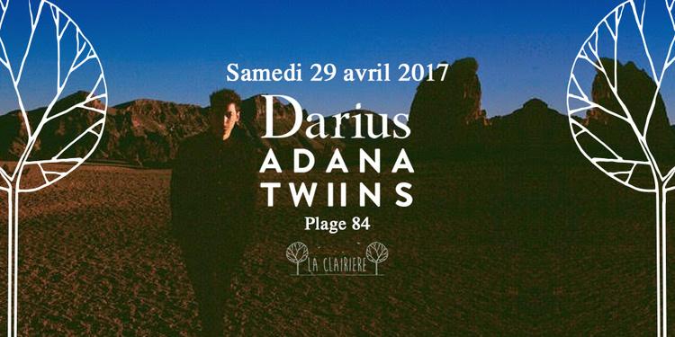 Darius & Adana Twins x La Clairière