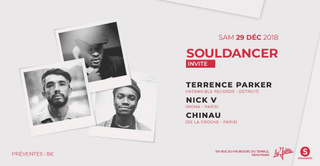Souldancer Invite Terrence Parker, Nick V, Chinau