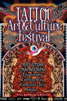 Tattoo, Art & Culture festival de Montreuil 2015