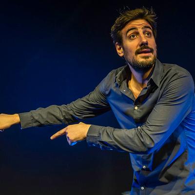 Maxime Gasteuil, une bête d'humour au Sentier des Halles