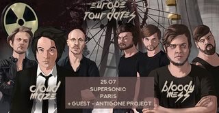 Cloud Maze • Bloody Mess • Antigone Project - Supersonic