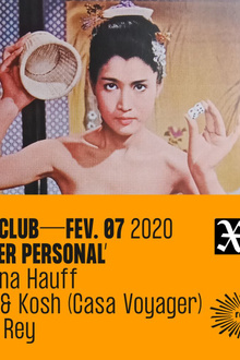 Mad Rey - Never Personal: Helena Hauff, OCB & Kosh (Casa Voyager), Mad Rey