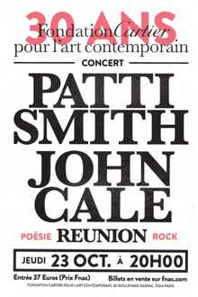 Patti Smith & John Cale en concert