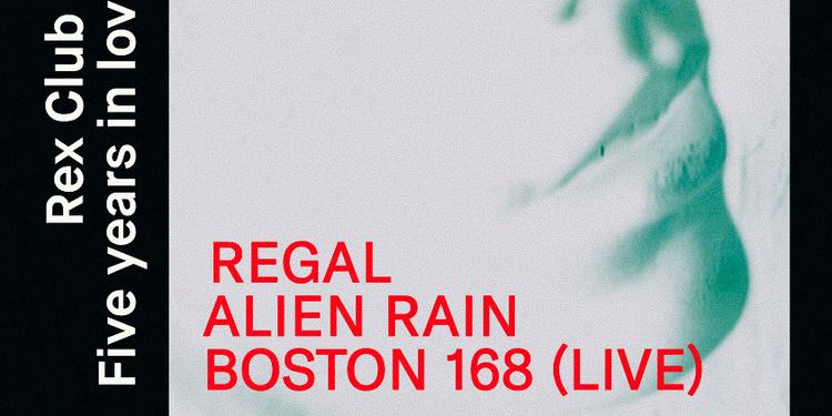Five Years in Love with Involve: Regal, Alien Rain, Boston 168 Live