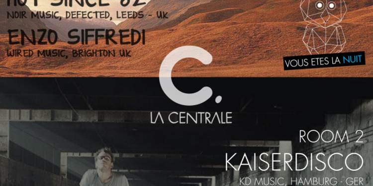 Opening Party : La Centrale