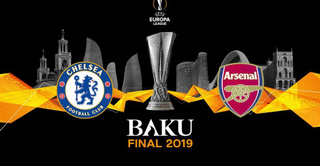 Europa league final! Chelsea Vs Arsenal