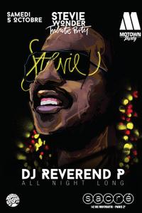 Motown Party tribute to Stevie Wonder - Sacré - samedi 05 octobre