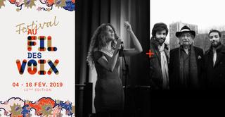 Dafné Kritharas // Dan Gharibian Trio - Festival Au Fil des Voix