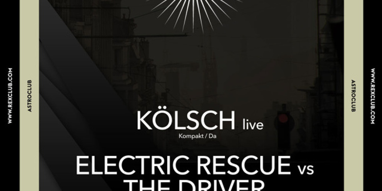Astroclub: Sonic Crew, Kolsch Live, Madben vs Oniris, The Driver vs Electric Rescue