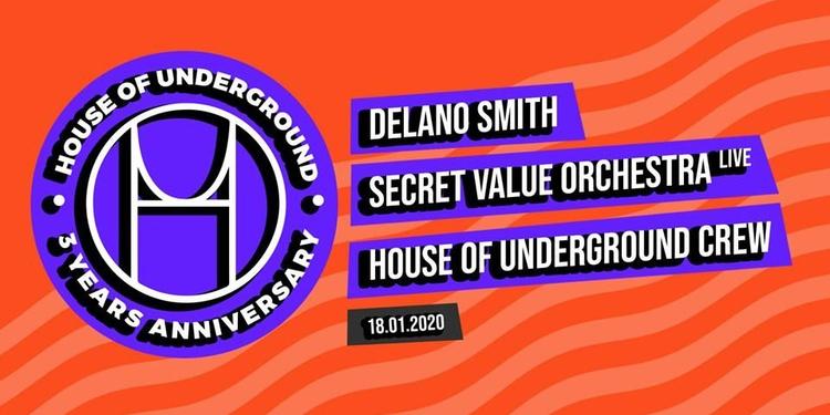 House Of Underground 3 Years Anniversary