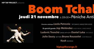 Boom Tchak ! (Percussions corporelles / danse hip hop)