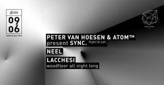 Concrete: Atom™ & Peter Van Hoesen present Sync., Neel, Lacchesi