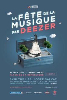 La Fête de la musique par Deezer