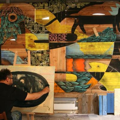 ArtWork à la Manufacture 111 : le street art en résidence pour l'été