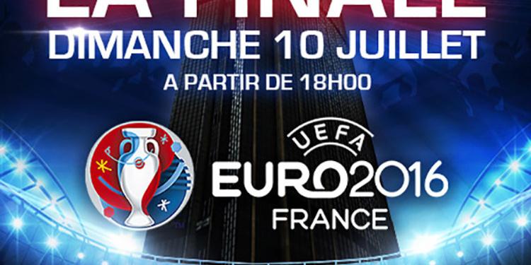 FIESTA FINALE EURO 2016 SUR LES TOITS DE PARIS
