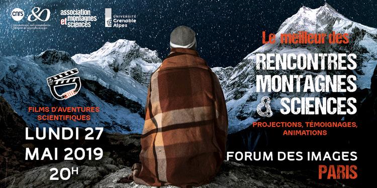 Rencontres Montagnes et Sciences - films d'aventures scientifiques