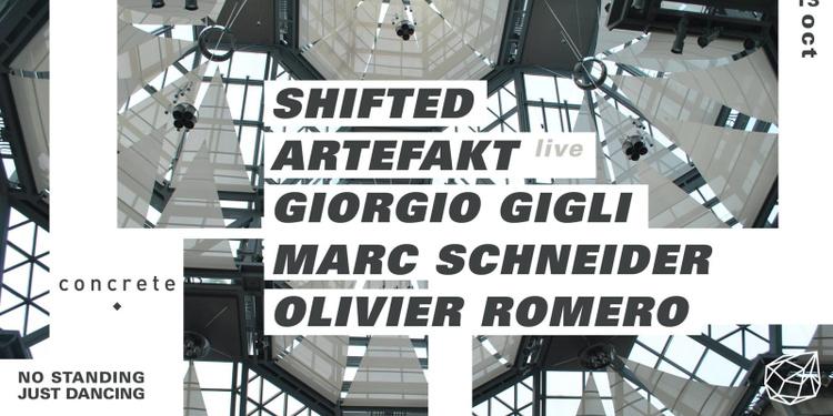 Concrete : Shifted, Artefakt, Giorgio Gigli, Marc Schneider