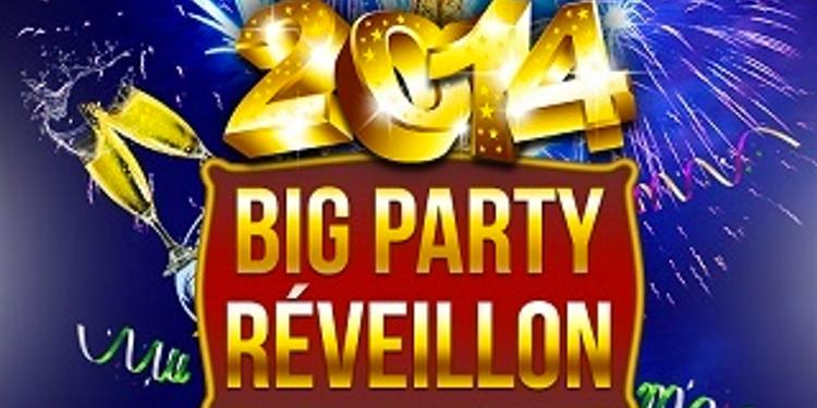 La BIG Party du Réveillon 2014 à PARIS