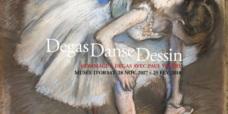 Degas Danse Dessin, Un hommage à Degas avec Paul Valéry