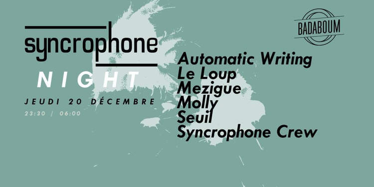 Trouble #2: Syncrophone Night