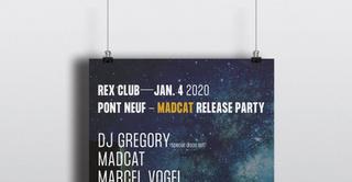 Pont Neuf Madcat Release Party: DJ Gregory (Disco Set) & Marcel Vogel