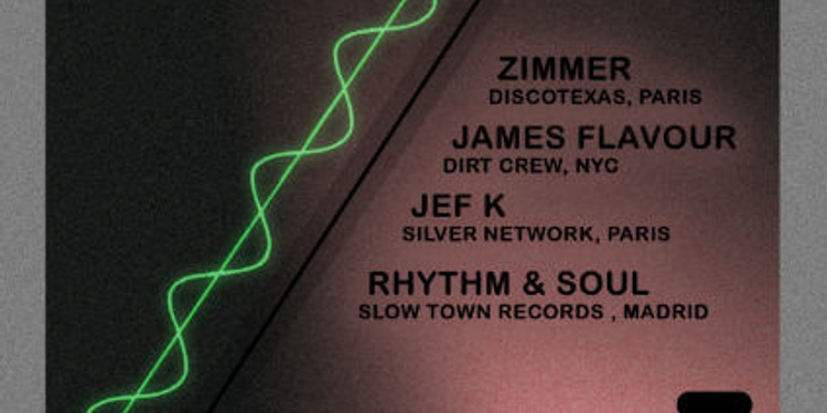 WANDERLUST Présente : Zimmer, James Flavour, Jef K, Rhythm & Soul