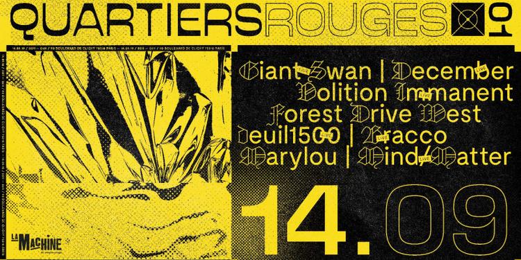 Quartiers Rouges .01 : Giant Swan, Volition Immanent