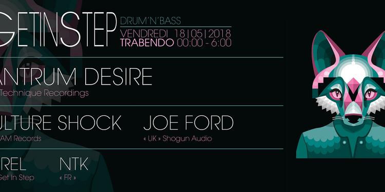 GET IN STEP w/ Tantrum Desire - Culture Shock - Joe Ford & More