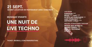 Red Bull Music Festival Paris - Musique Vivante