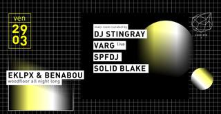 Concrete: Dj Stingray, Varg Live, Spfdj, Solid Blake