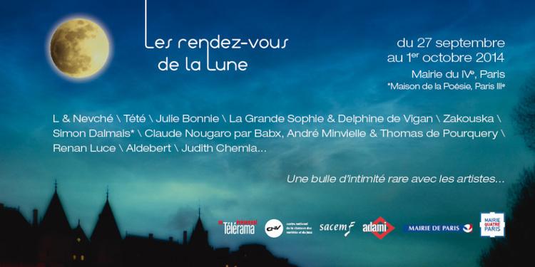 Festival Les Rendez-vous de la Lune 2014